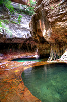 Zion National Park, Subway hike
