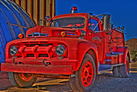 Chloride, Arizona, HDR fire truck