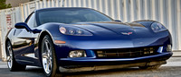 Chevy Corvette 2007 C6 Le Mans Blue